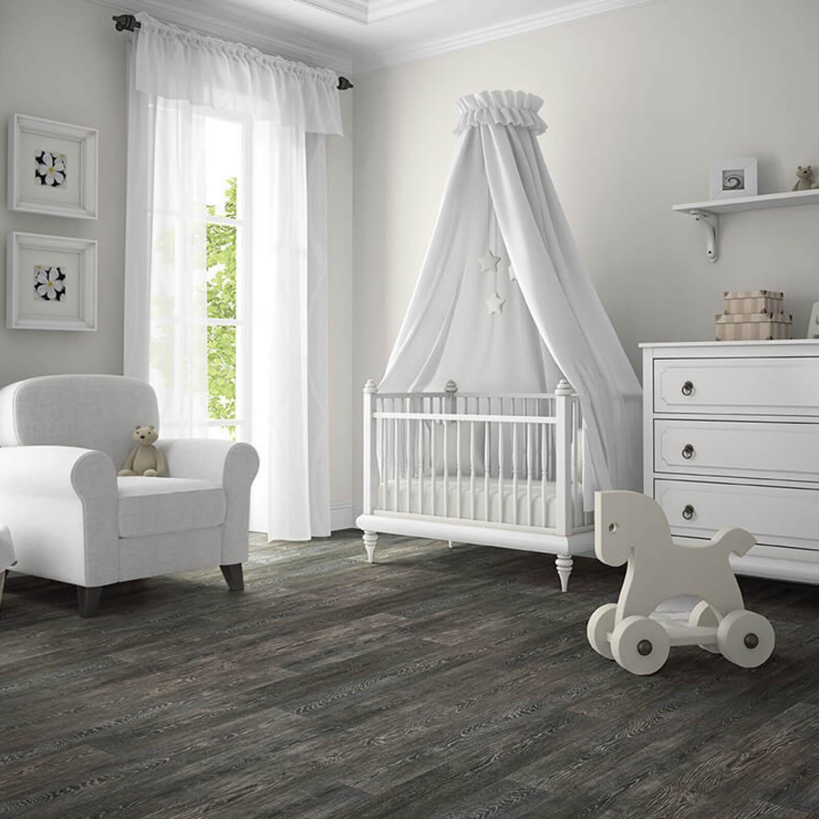 Vinyl Floors in Nursery | Haley's Flooring & Interiors