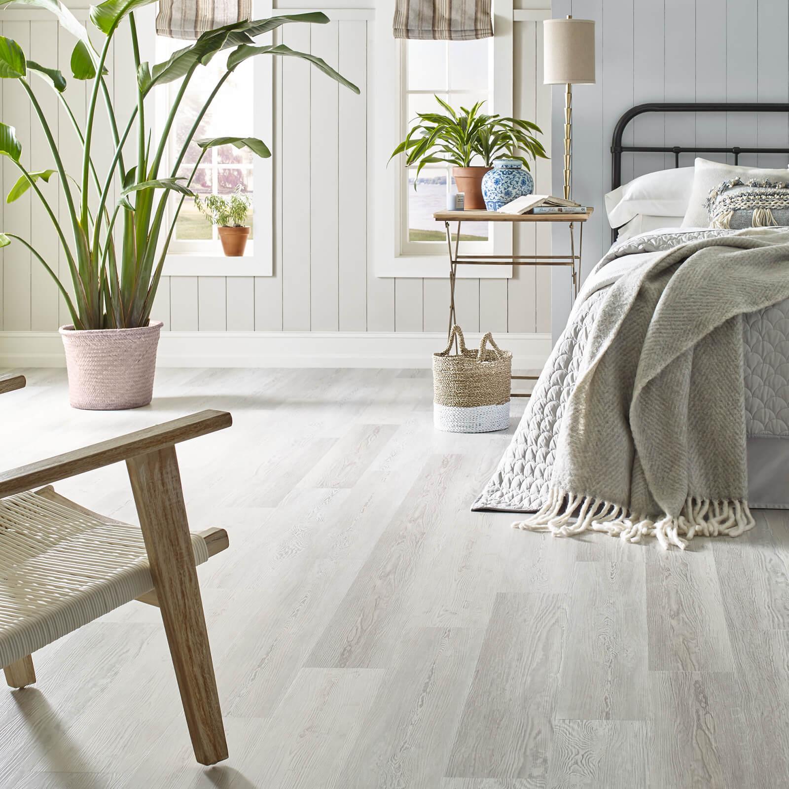 Vinyl Floors in Bedroom | Haley's Flooring & Interiors