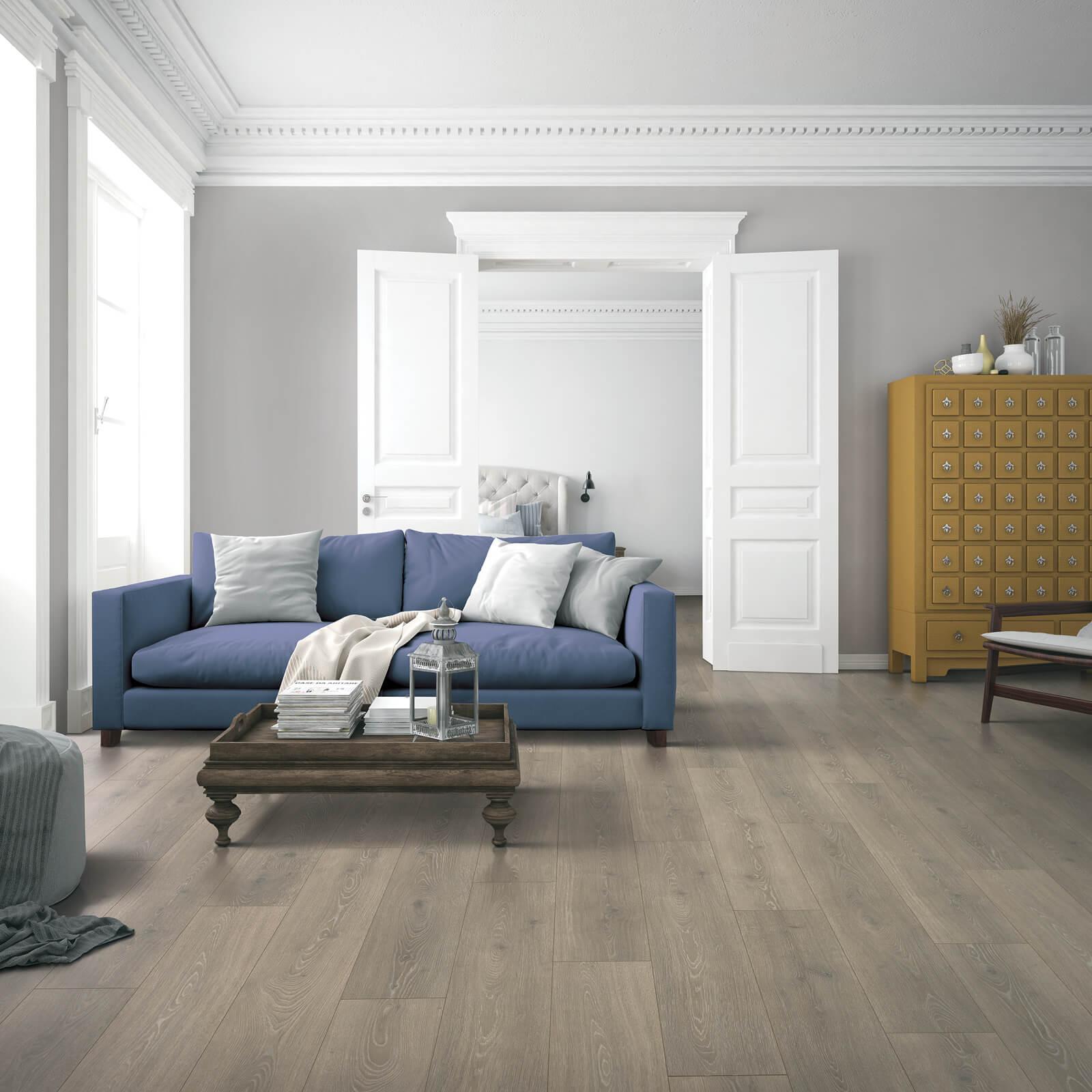 Vinyl Floors in Living Room | Haley's Flooring & Interiors