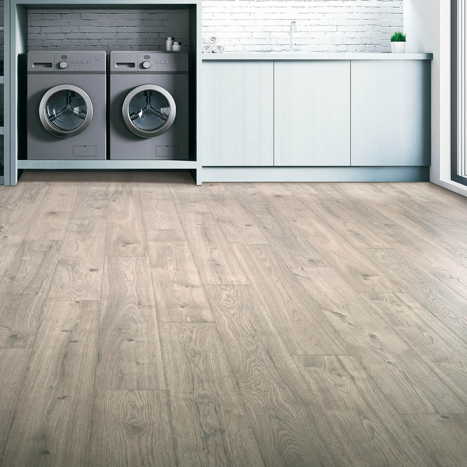 Laminate in Laundry Room | Haley's Flooring & Interiors