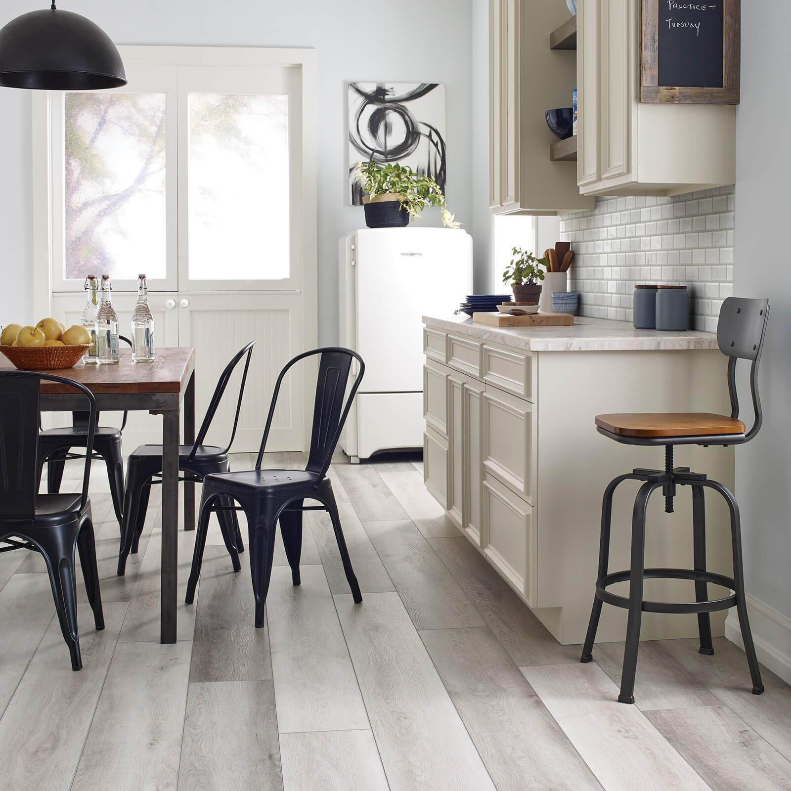 Vinyl Floors in Kitchen | Haley's Flooring & Interiors