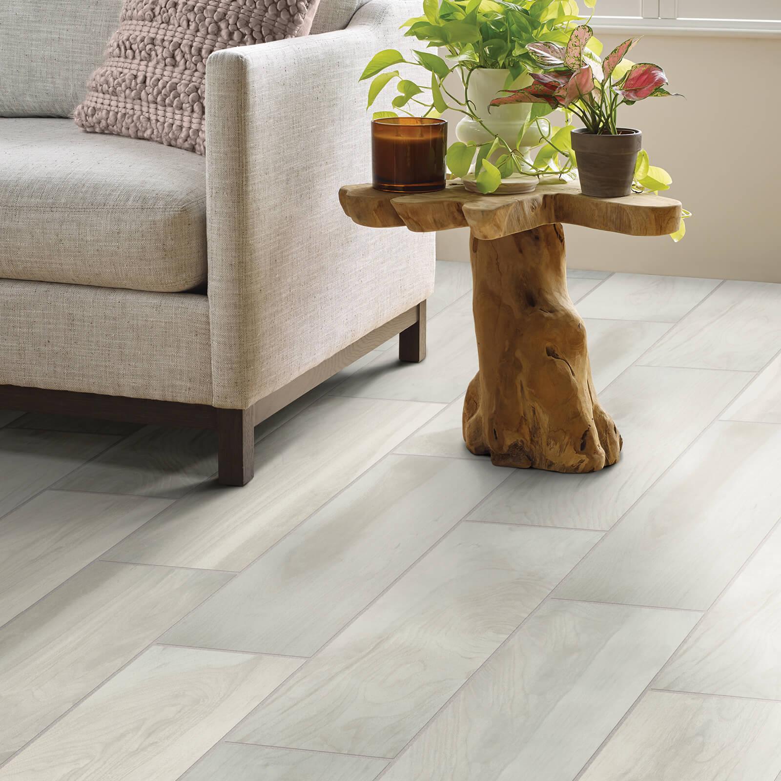 Tile in Living Room   Haley's Flooring & Interiors