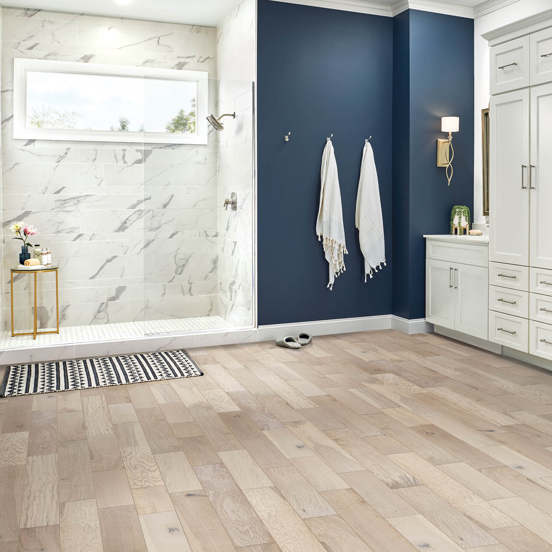 Vinyl Floors in Bathroom | Haley's Flooring & Interiors