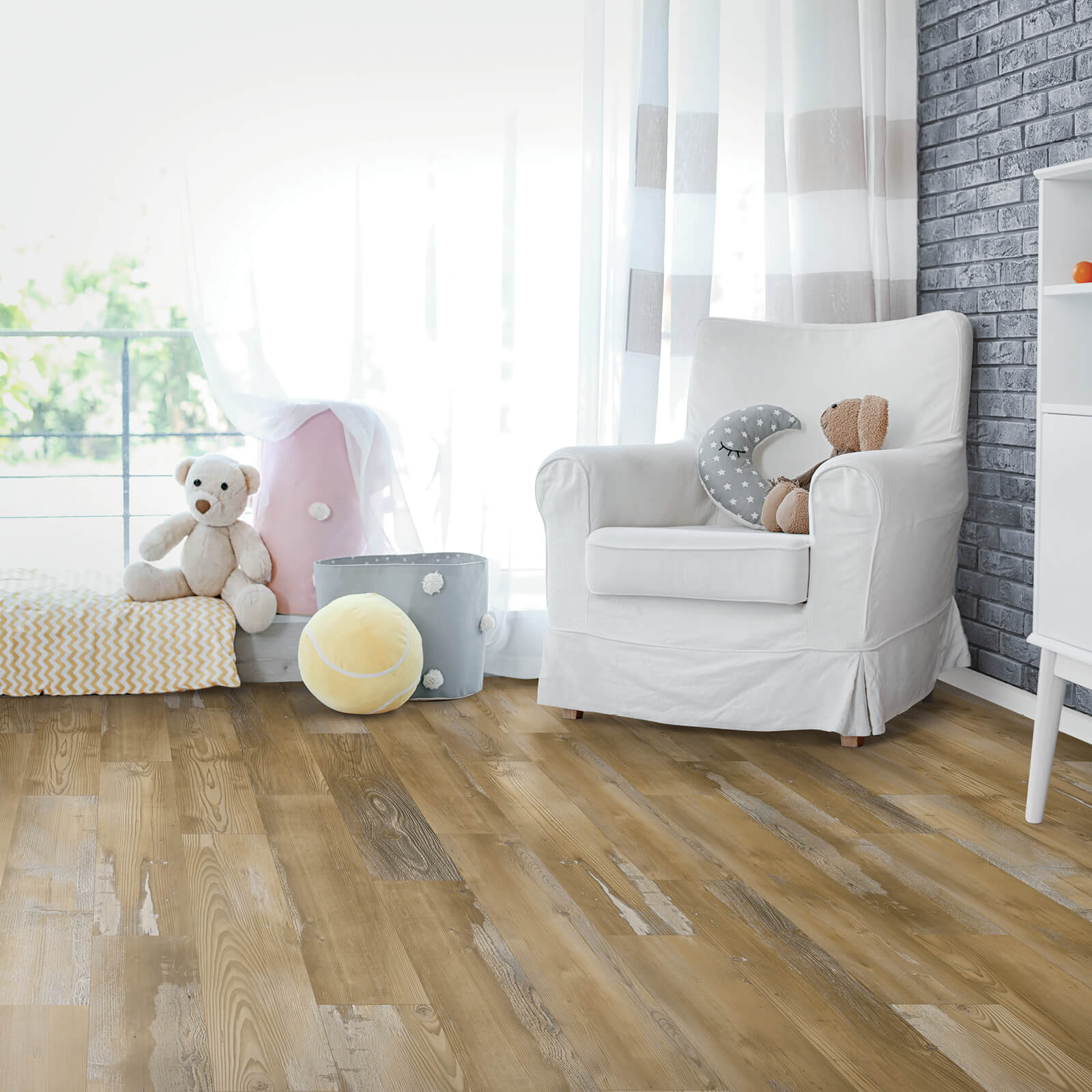 Laminate in Nursery | Haley's Flooring & Interiors