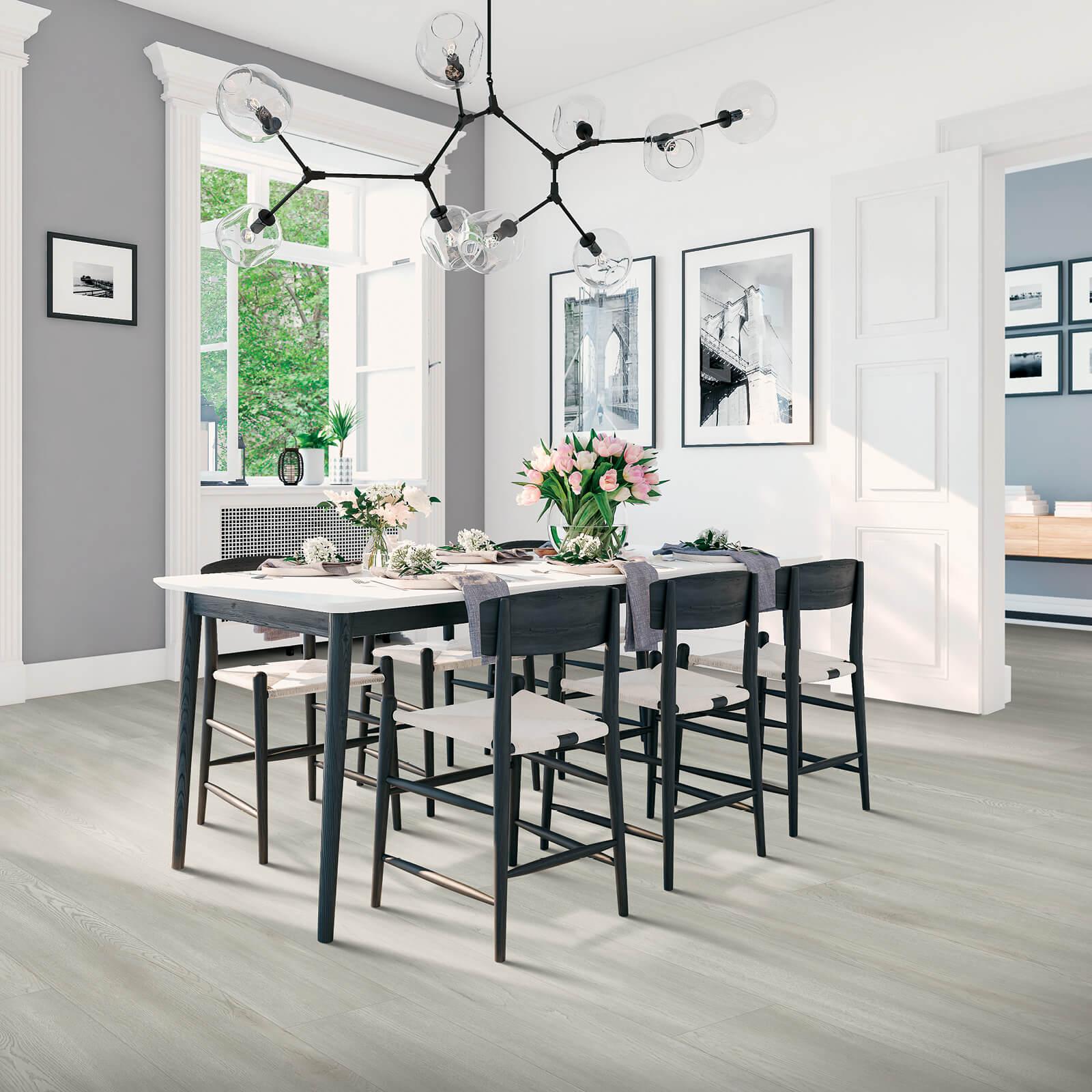 Laminate in Dining Room | Haley's Flooring & Interiors