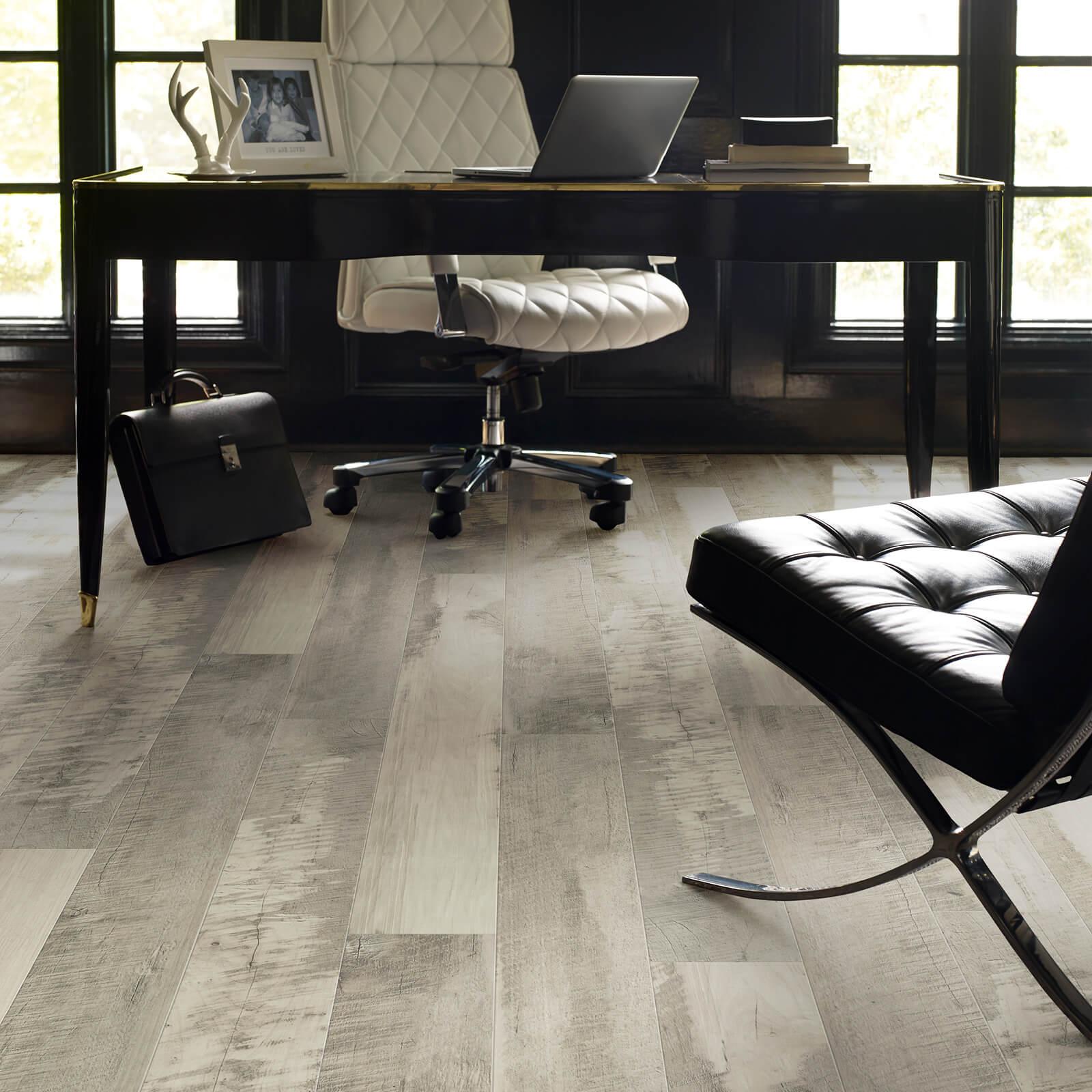 Laminate in Office | Haley's Flooring & Interiors