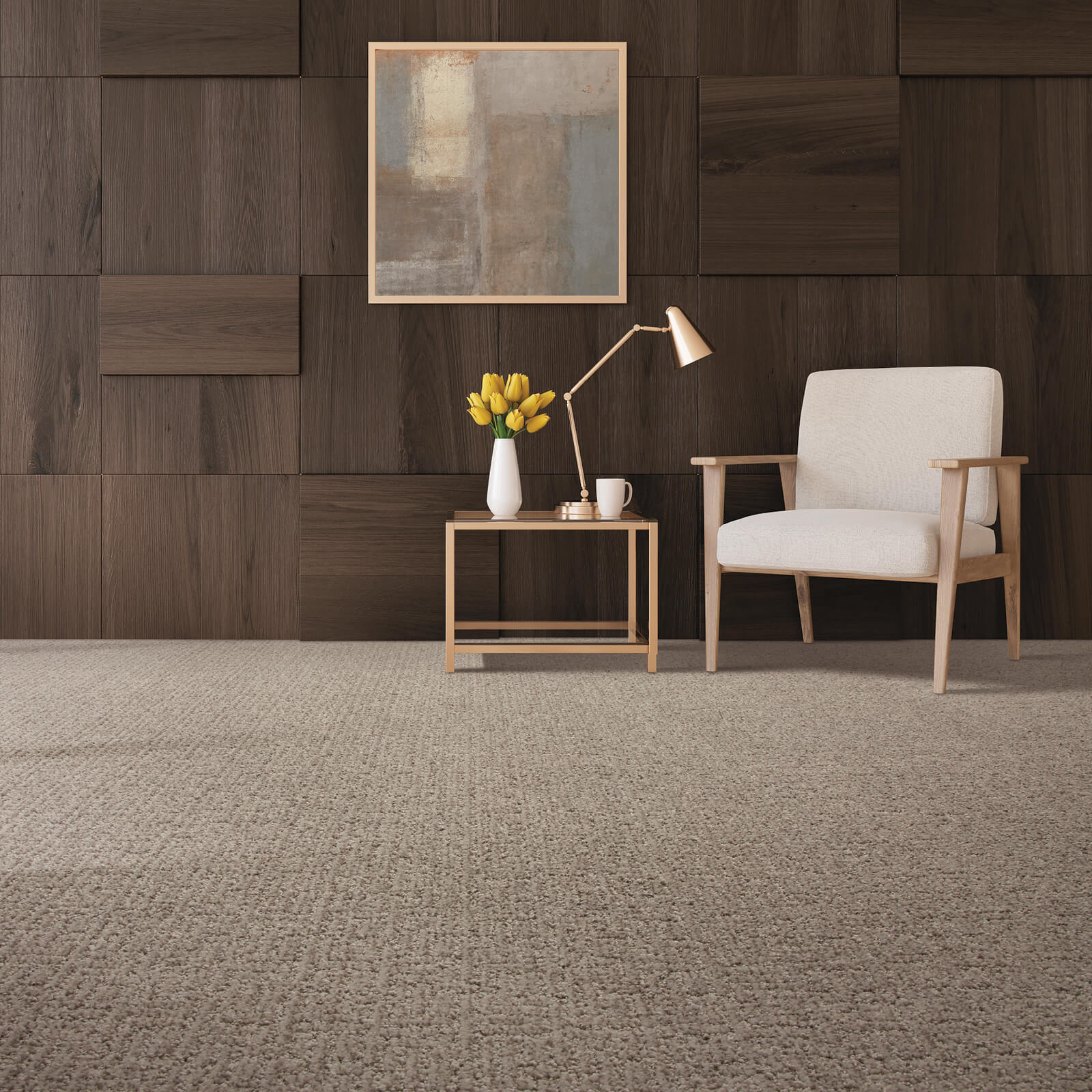 Carpeting with Chair   Haley's Flooring & Interiors