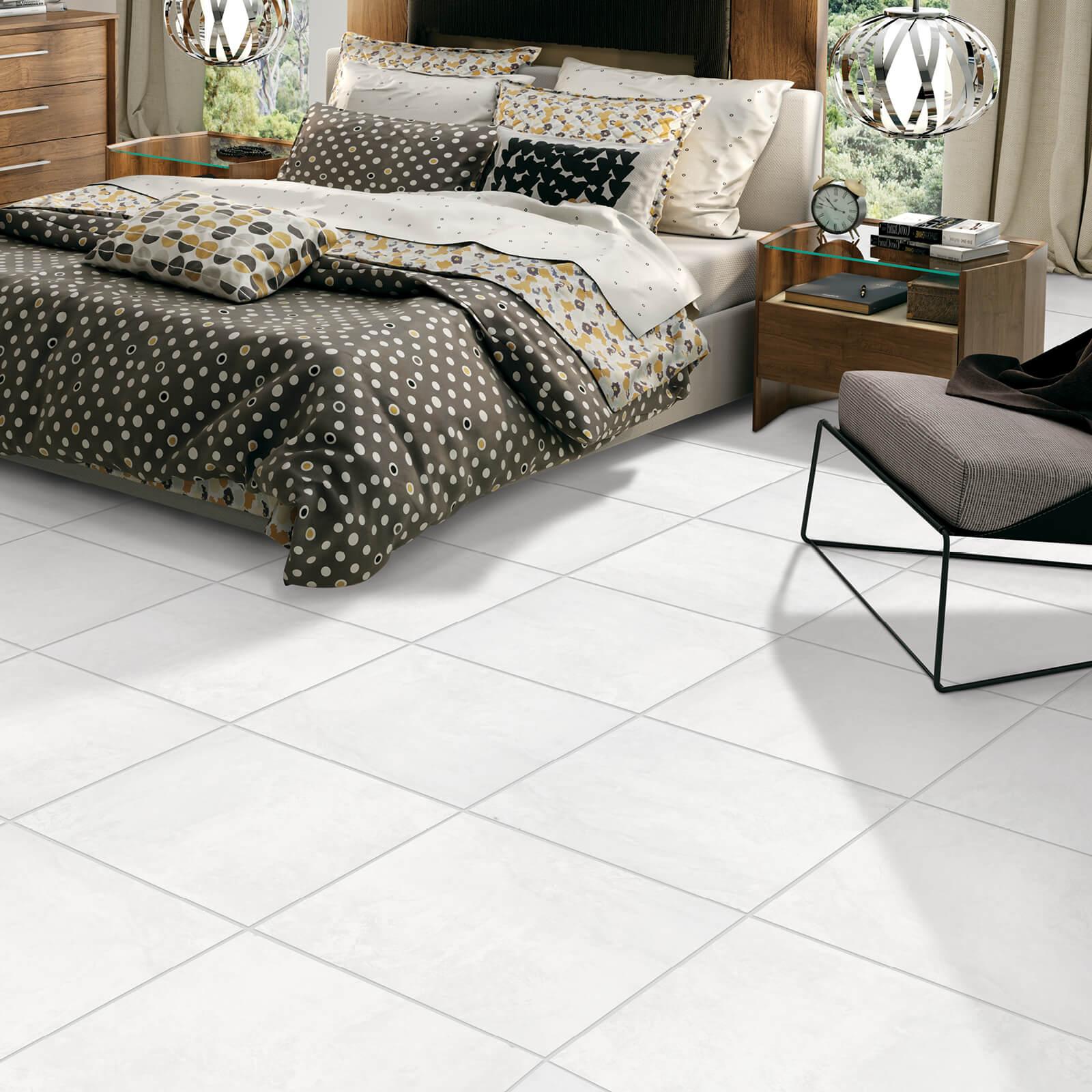 Tile in Bedroom   Haley's Flooring & Interiors