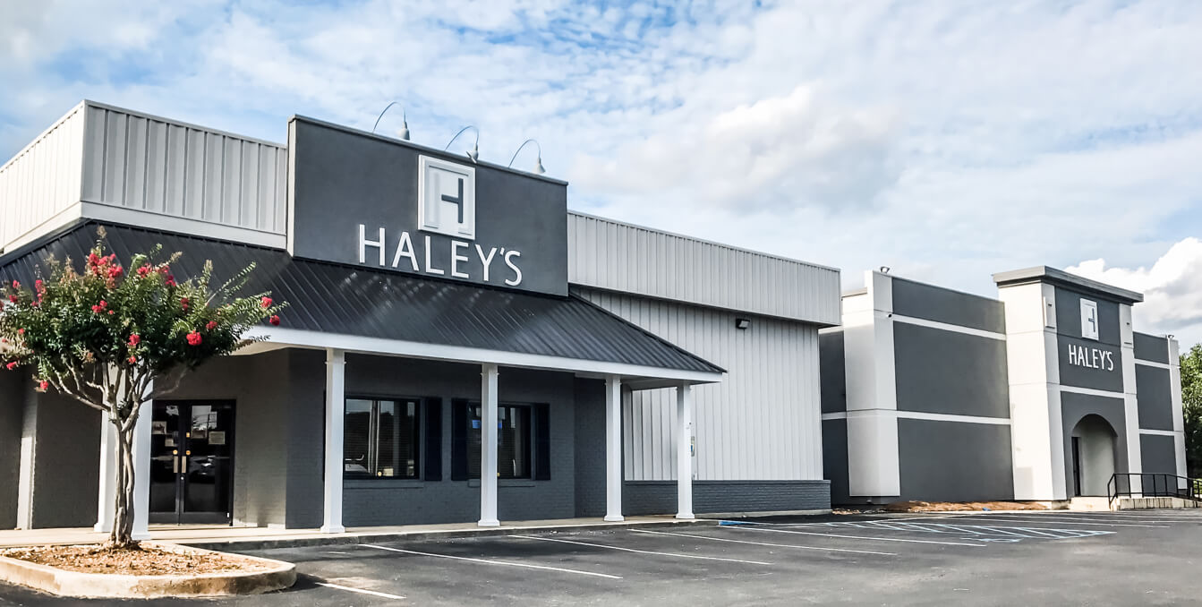 Haleys storefront | Haley's Flooring & Interiors