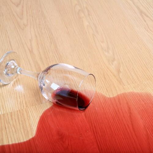 laminate wine spill | Haley's Flooring & Interiors