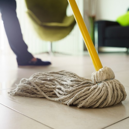 tile mopping | Haley's Flooring & Interiors
