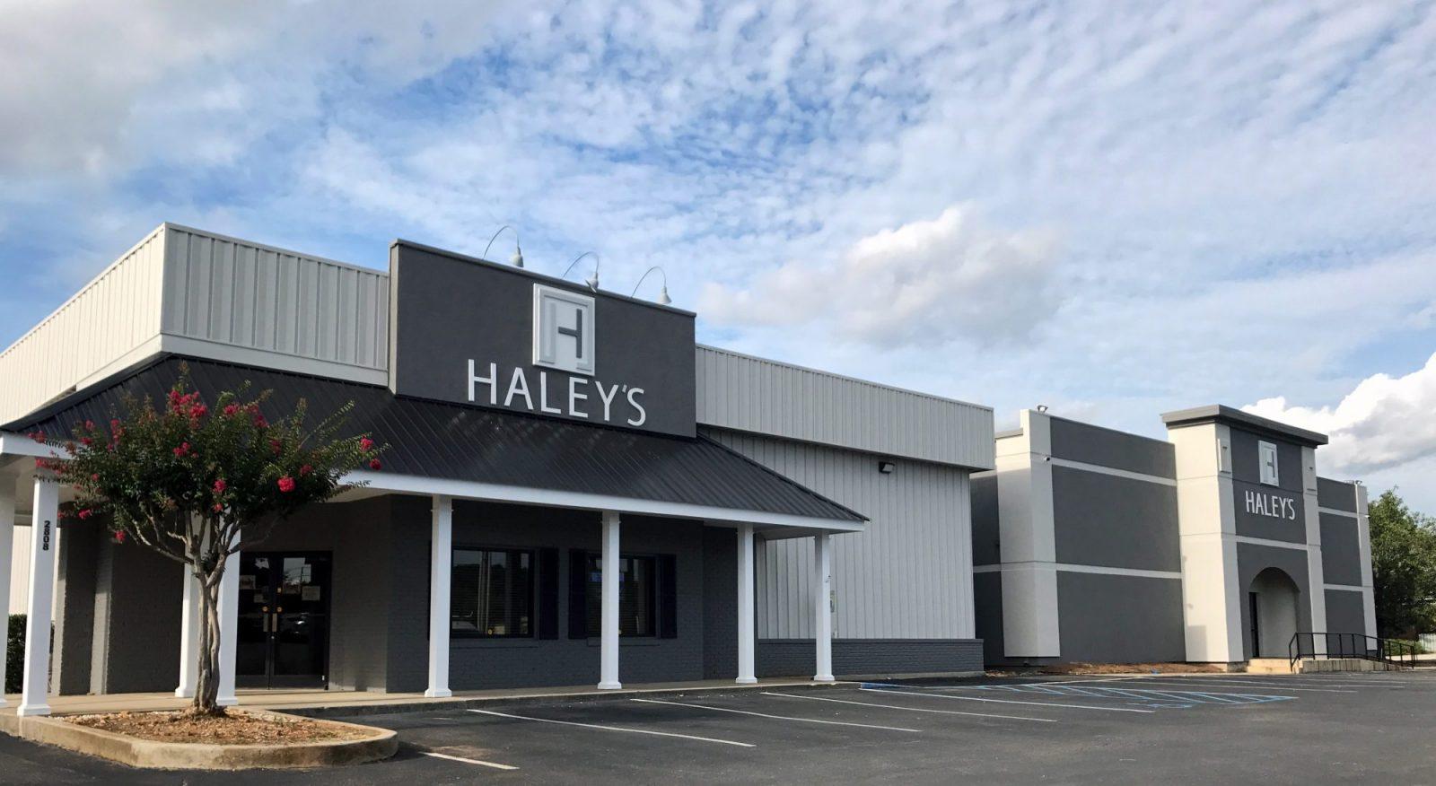 Store Front Hayleys   Haley's Flooring & Interiors