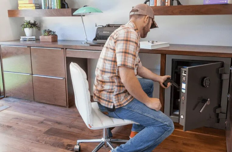 home-safes-man | Haley's Flooring & Interiors