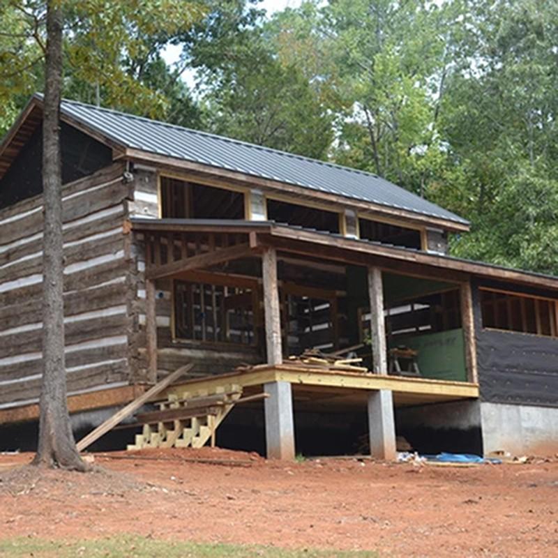 Barnwood Builders Haley Cabin | Haley's Flooring & Interiors