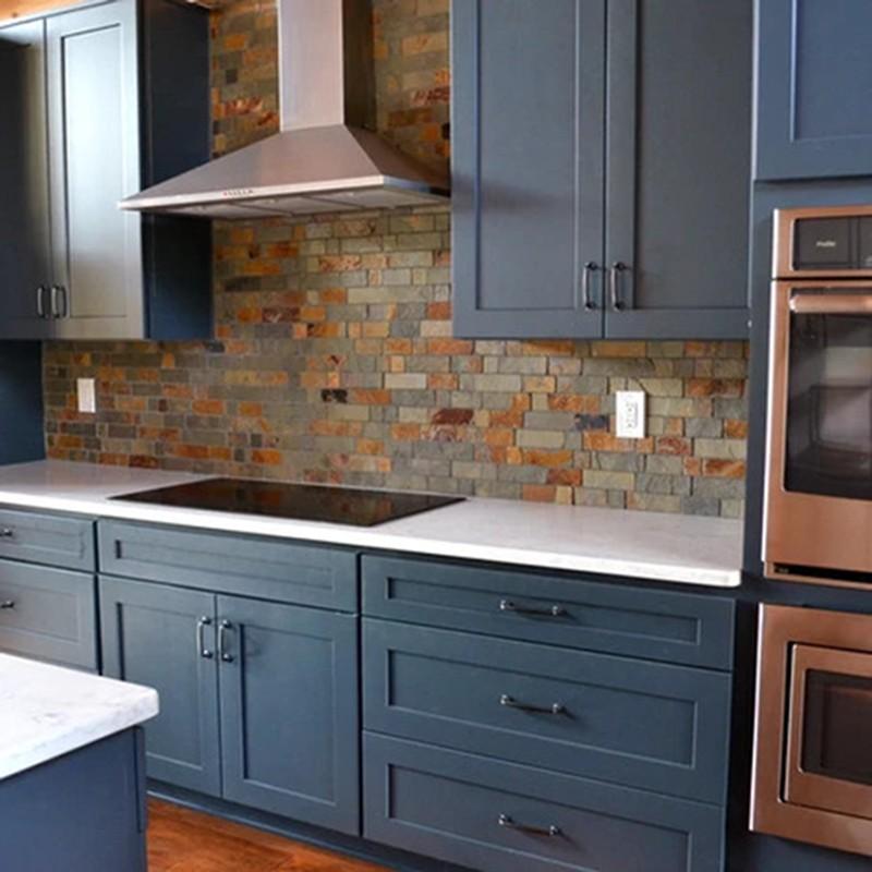 Blue Cabinets | Haley's Flooring & Interiors