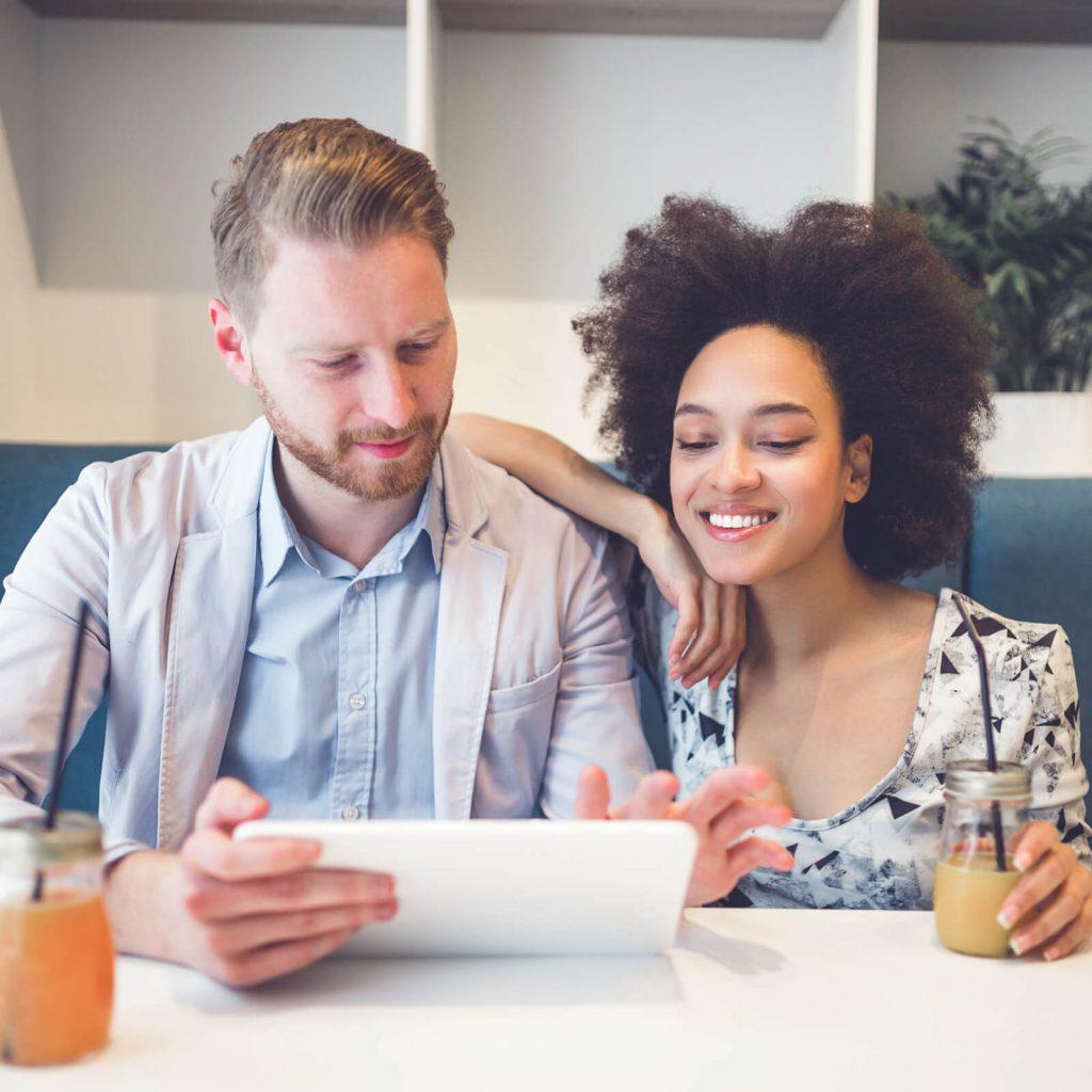 Couple financing online | Haley's Flooring & Interiors