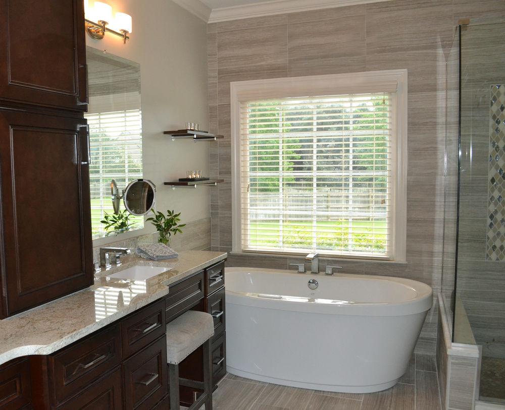 Master Bath - Redesigned with Purpose | Haley's Flooring & Interiors