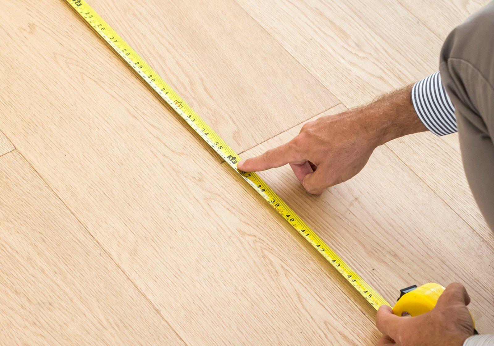 measure flooring